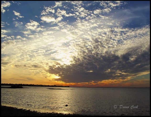 Sunset at Galveston Bay